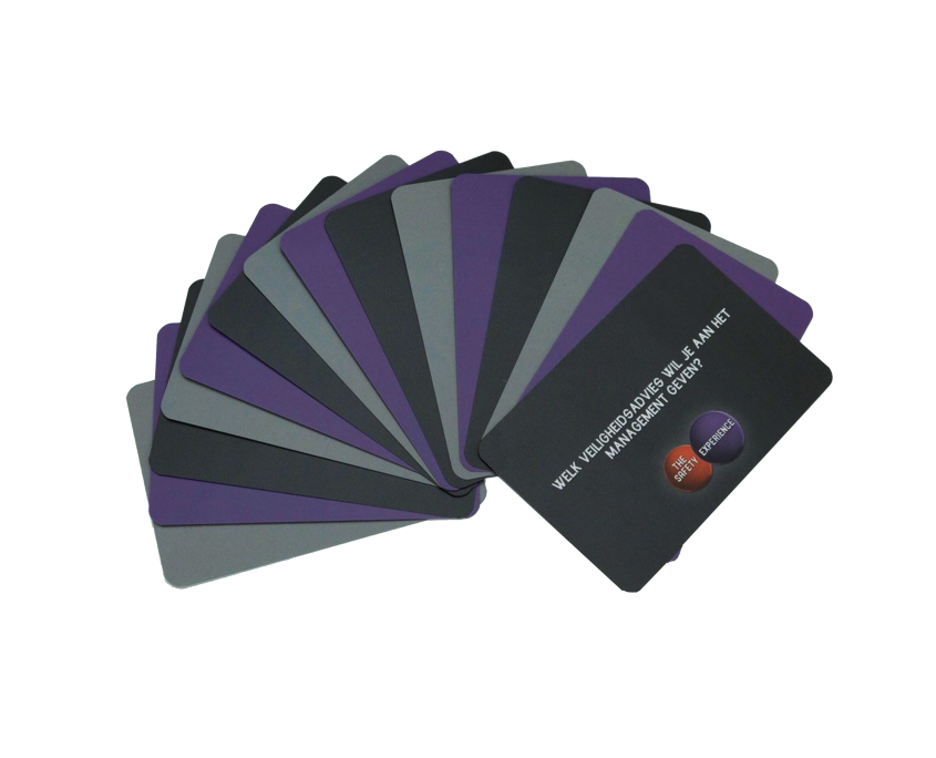 CR Safety - Producten - Safety Coach Cards
