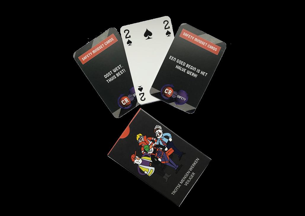CR 8 Safety - veiligheidsspel - Safety Mindset Cards